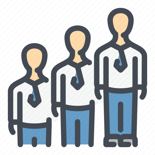 business, man, management, people, person, staff, team icon