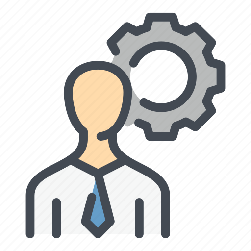 Configuration, gear, man, person, profile, settings, user icon - Download on Iconfinder