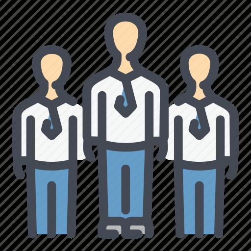 business, group, people, staff, team, teamwork, work icon