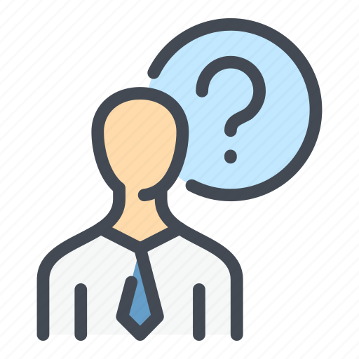 Ask, avatar, info, person, profile, question, user icon - Download on Iconfinder