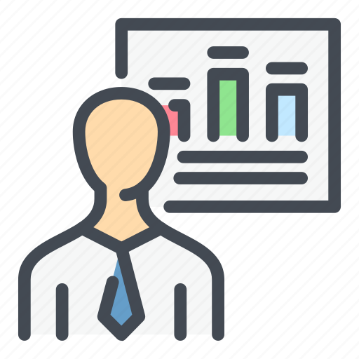 Account, analytics, person, profile, statistics, stats, user icon - Download on Iconfinder