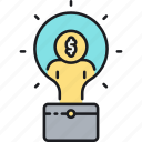 business, business idea, business plan, idea icon