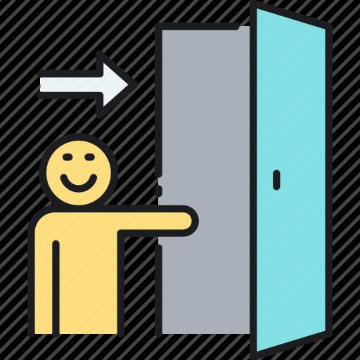 Door, entrance, entry, login icon - Download on Iconfinder