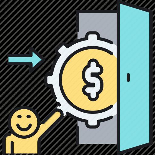 income, income settings, settings icon