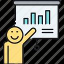 chart, graph, presentation