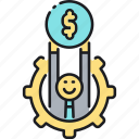 income, money, resources icon