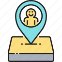 gps, location, placeholder, user, user location, user placeholder icon