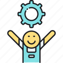 settings, user, user settings icon
