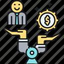 balance, value icon
