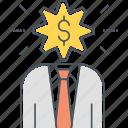 adviser, advisor, banker, consultant, financial, financial advisor, financial consultant icon