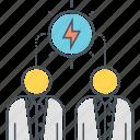 brainstorm, brainstorming, idea sharing, sharing, sharing idea, think, thinking icon