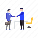 agreement, business agreement, business deal, business partnership, contract icon