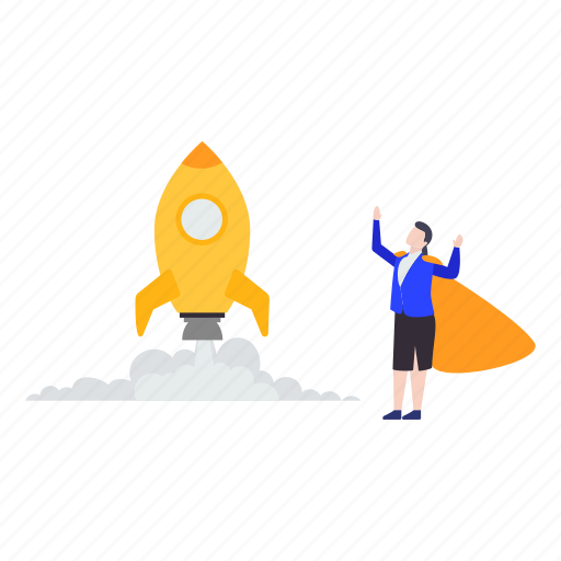 beginning, business launch, business startup, commencement, initiation icon