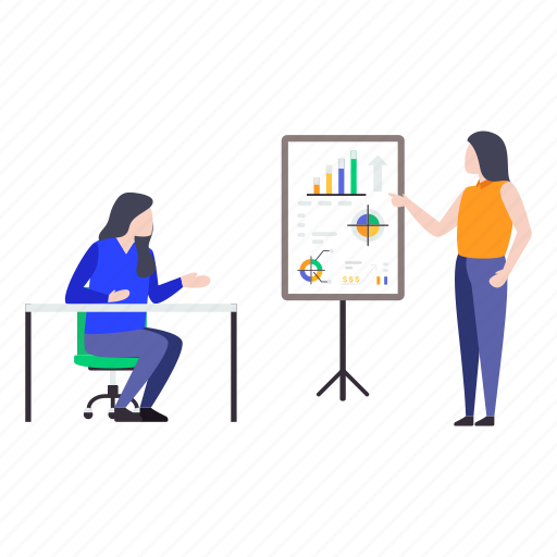business analytics, business infographic, business presentation, business statistics, graphical presentation icon
