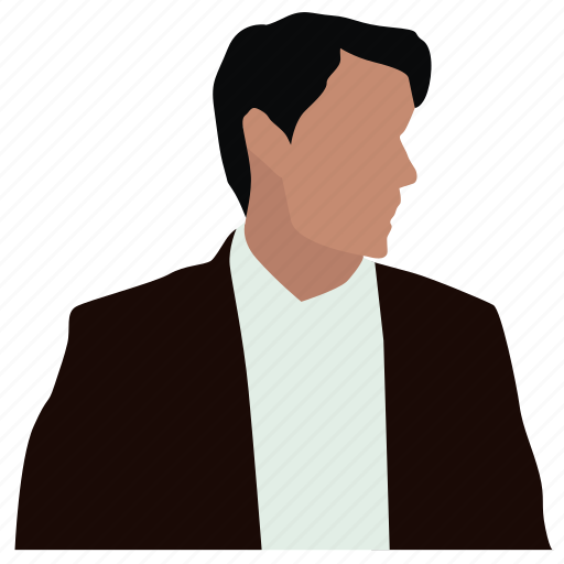 avatar, lawyer, male, man, manager, person, student icon