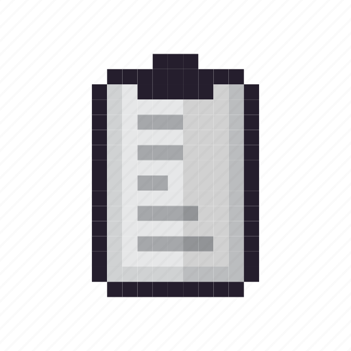 clipboard, document, file, page, paper, sheet icon