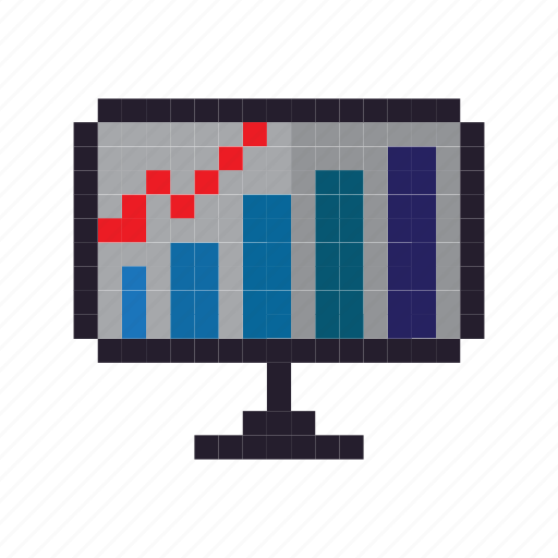 analytic, graph, growth, increase, progress, stat icon