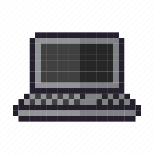 computer, keyboard, laptop, notebook, technology icon