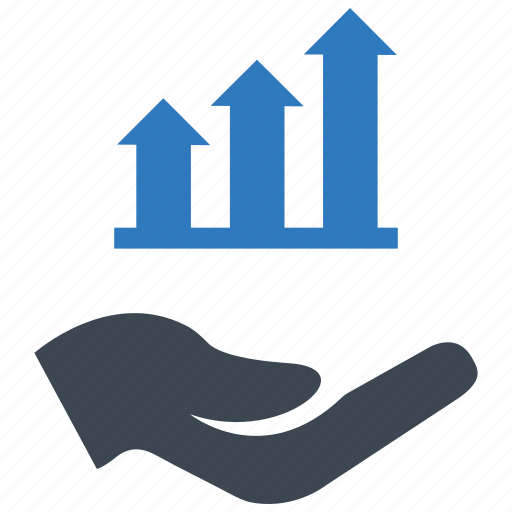 analysis, graph, growth icon