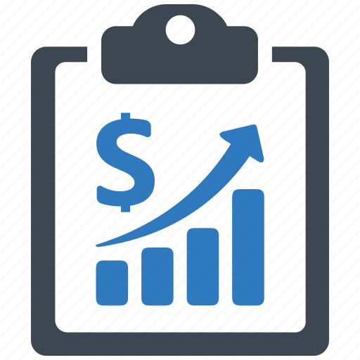growth, income, report icon