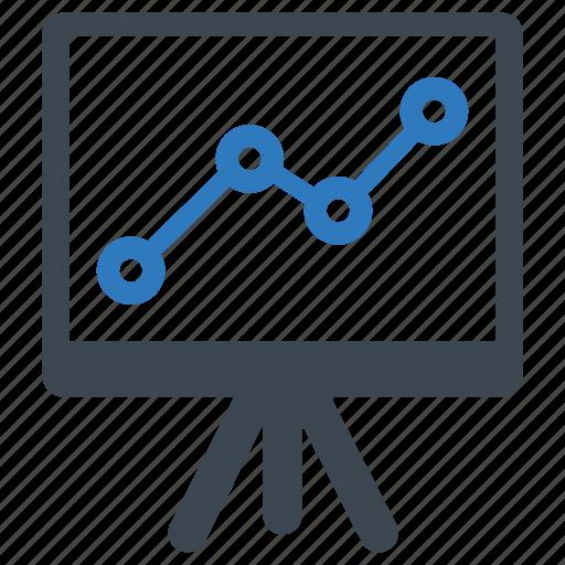 analytics, presentation, report icon