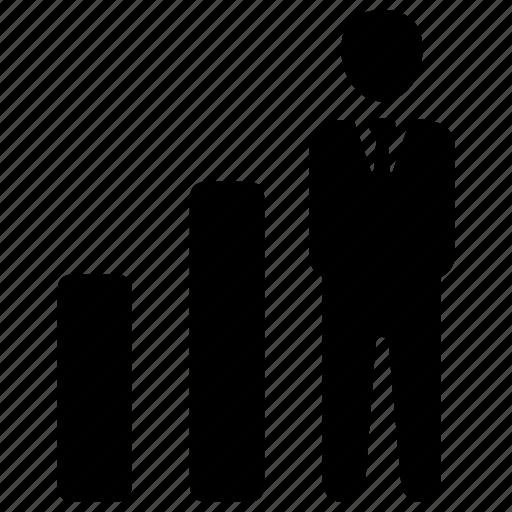 career, growth, increase, job icon