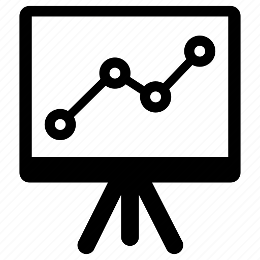 diagram, presentation, report, statistics icon
