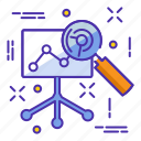 analytics, analyze, business, chart, diagram, report icon