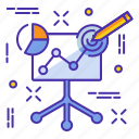 analytics, analyze, business, chart, diagram, project, report icon
