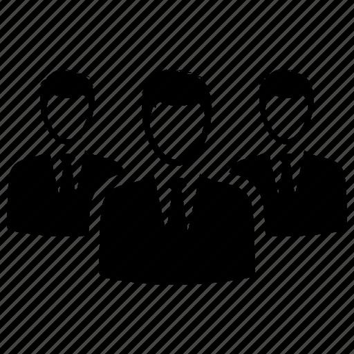 businessman, leader, team icon