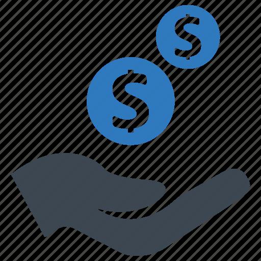 income, investment, revenue icon