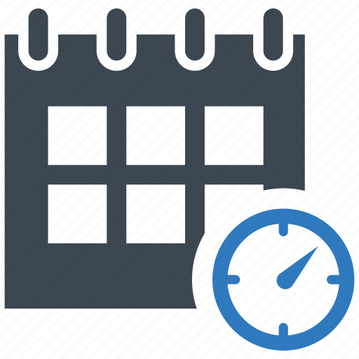 calendar, project plan, schedule icon