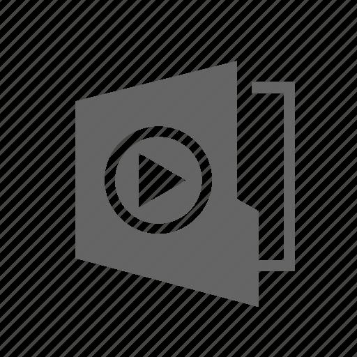 demo, demonstration, display, media, presentation, training, video icon