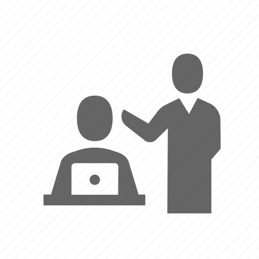 discussion, instructor, meeting, speaker, speech, talking, training icon