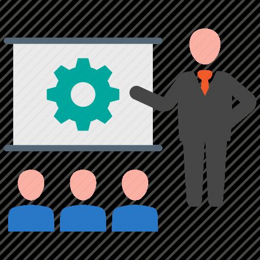 business, presentation, strategy icon