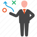 business, plan, strategy icon
