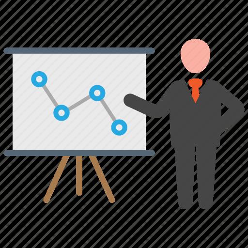 Analytics, business, presentation icon - Download on Iconfinder