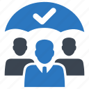 employee, insurance, security icon