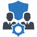 employee, insurance, life, security icon