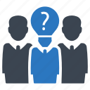 support team, brainstorming, problem solving