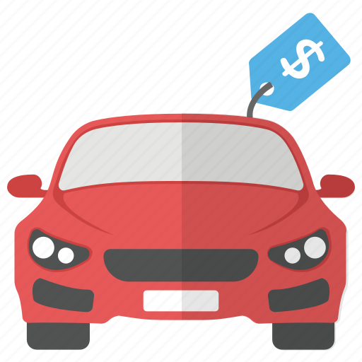 Car Price Car Purchase Car Value New Car Vehicle Cost Icon