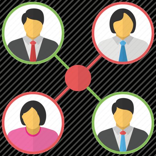 community, group, organization, staff, team icon