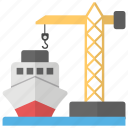 cargo, sea freight, sea shipping, shipment, shipping icon