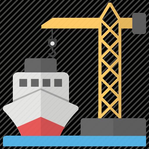 cargo, sea freight, sea shipping, shipment, shipping icon