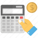 accounting, budgeting, calculation, economy calculation, financial calculation icon