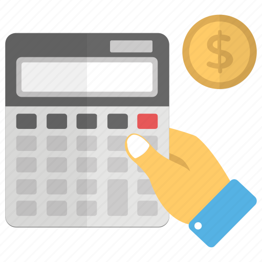 Calculation, accounting, economy calculation, budgeting, financial calculation icon