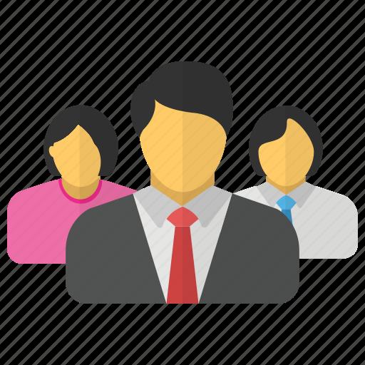 group, leader, leadership, management, team icon