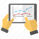 analytics, data information, infographics, statistics, stats icon