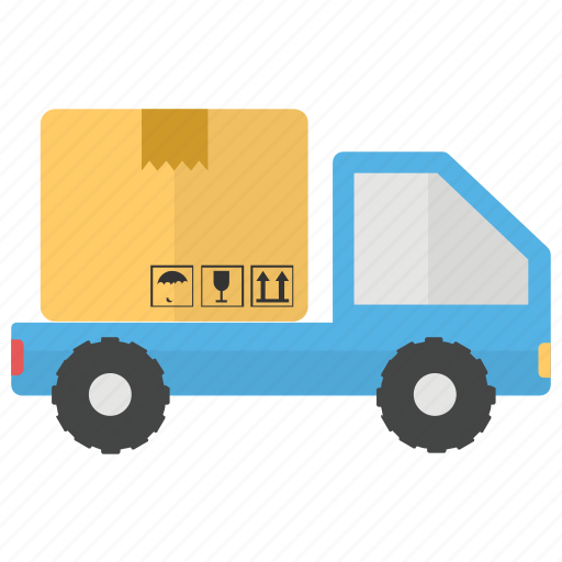 delivery lorry, delivery transportation, delivery van, logistics bus, shipping vehicle icon