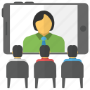 video conferencing, remote chat, virtual meeting, online chat, video chat